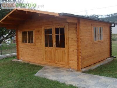 Bungalow in legno 5x5. Spessore 43 mm - DEKALUX