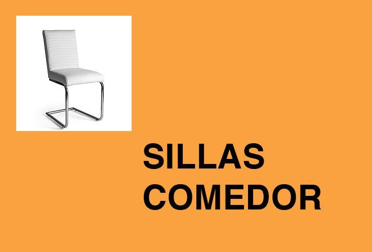 Venta online de sillas para tu comedor en polipiel negra y blanca y con costuras decorativas.