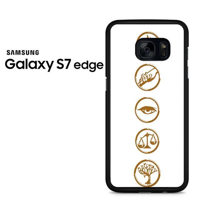 5 Factions Divergent Samsung Galaxy S7 Edge Case