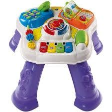 Vtech Play & Learn Activity Table - Walkers & Activity Stations   Baby & Toddler Town