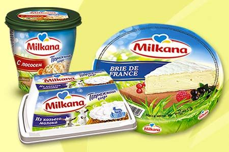 сыр Милкана