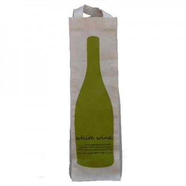 Apple Green Duck – Wine bag. • Available at thebigdesignmarket.com