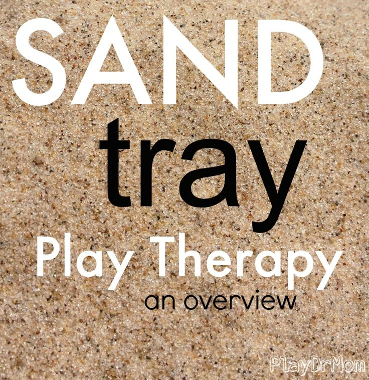 PlayDrMom overviews the therapeutic intervention of sandtray play therapy.