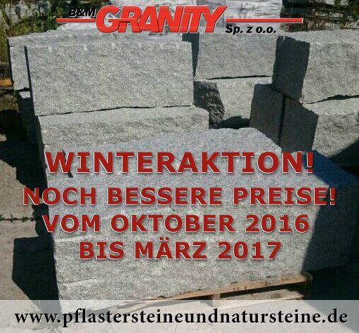 Firma B&M GRANITY – GRANIT-MAUERSTEINE aus Polen (GRAU und GRAU-GELB), diverse Mauersteine- (Quader-) Sorten aus Granit, Sandstein, Schiefer…für den Garten. Auch solche Steine werden mit dem Firmenfuhrpark (B&M GRANITY) an Kunden geliefert.   http://www.pflastersteineundnatursteine.de/fotogalerie/mauersteine/