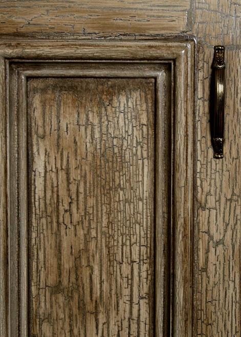 crackle kitchen cabinet doors | Crackle cabinet close-up