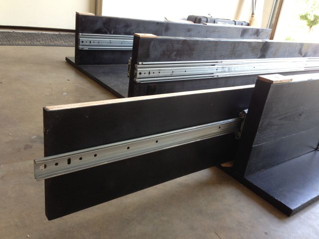 25 best ideas about truck bed storage on pinterest truck bed box flatbeds for pickups and - Diy truck bed storage ...