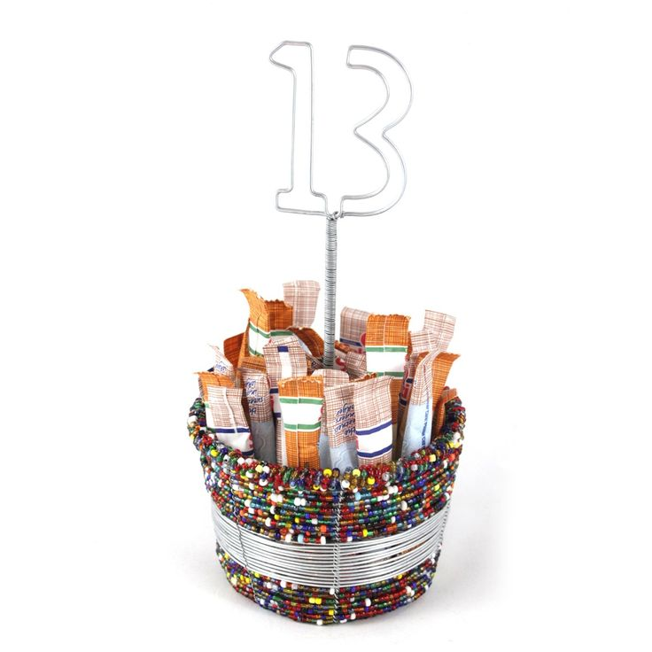 Multi Colored Sugar Bowl | Stribal CafeStribal Cafe