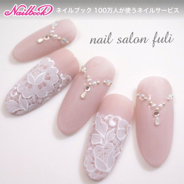 Would be pretty for wedding nails