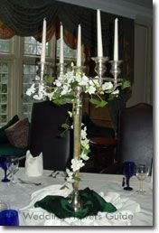 wedding candelabras | Wedding Candle Centerpieces are the Ideal Romantic Decoration