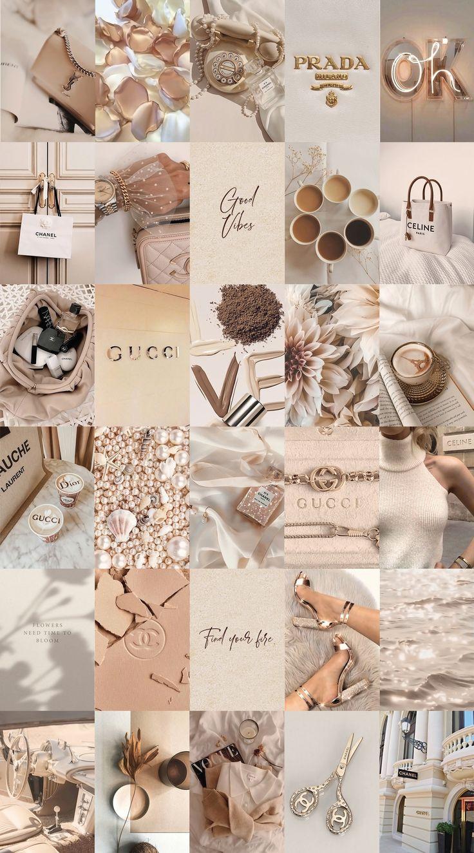 collages for macbook #beige #aesthetic #wallpaper #desktop