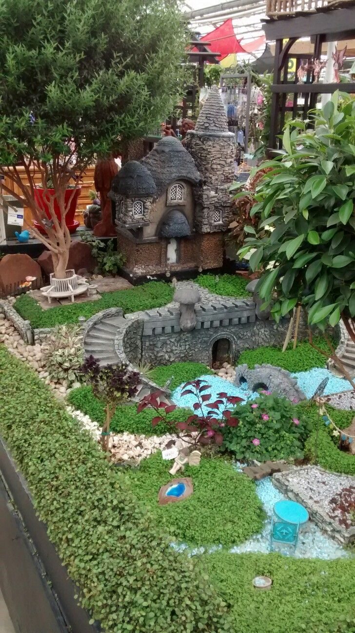 25+ Unique Large Fairy Garden Ideas On Pinterest | Gnome Tree Stump House,  What Is A Gnome And Fairy Homes