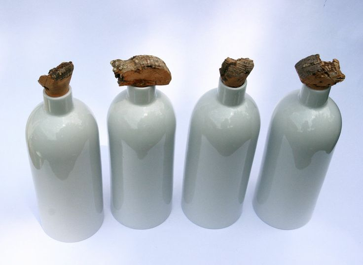 Porcelain Bottles by Tyformy.