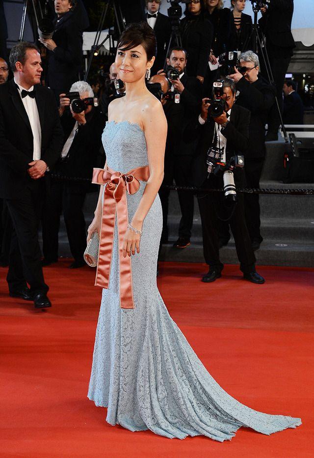 カンヌで輝くアジアンビューティー、松嶋菜々子や真木よう子が華麗なドレス姿を披露 1枚目