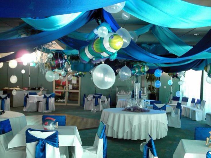 Underwater theme by www.newminsterfunctiondesign.com