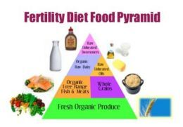 The Fertility Food Guide Pyramid