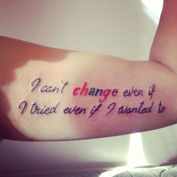 "Macklemore lyrics ""I can't change even if I tired even I wanted to"" LGBT represent :p TATTOO"