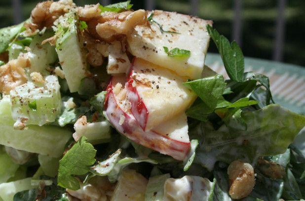 Recette: salade Waldorf | Métro