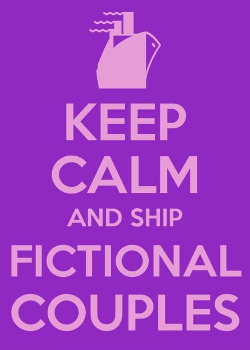 ship fictional characters together.