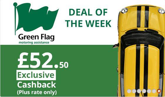 Green flag cashback