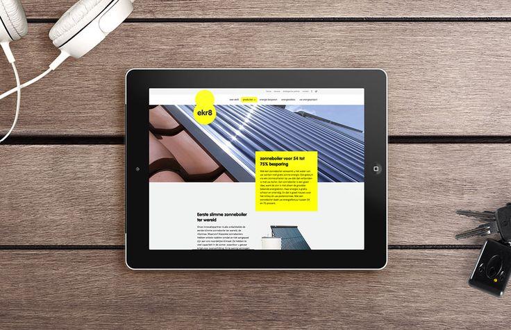 ekr8 - Responsive website | by Skinn Branding Agency