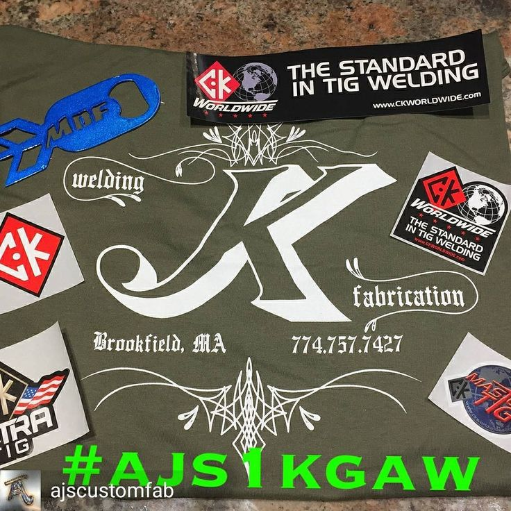 @Regranned from @ajscustomfab -  So here we go I got everything put together for my #ajs1kgaw I told yall Id be doing. Ended up with a bunch of stuff and decided to split it up into 5 winners. Had a lot of awesome companies and fellow welders send me stuff to include. Yall are some lucky sobs is all I got to say... Rules are as follows... Follow these pages.. @ajscustomfab @jkwelding.fab @madd_dog_fab_llc @ckworldwide @clevelandpunchdie Repost 1 time with the hashtag #ajs1kgaw Tag me and a…