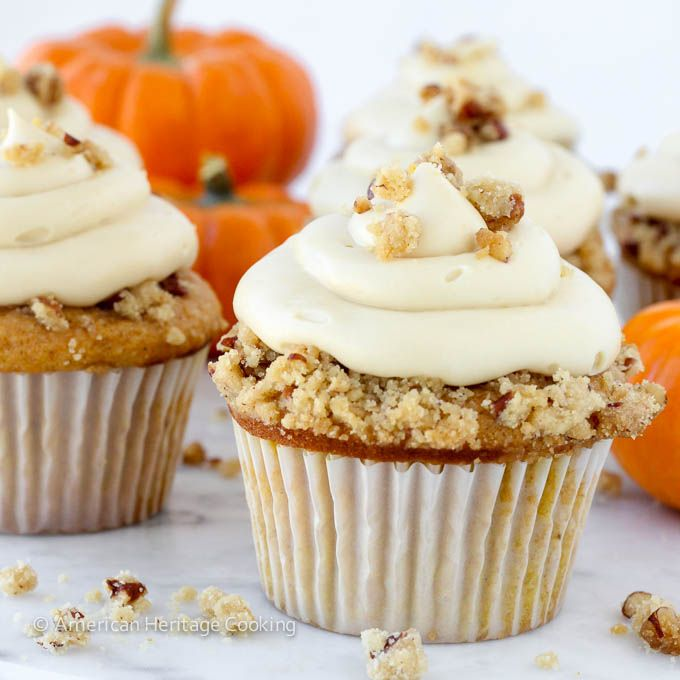 ... Pecan Pie Cupcake with Bourbon Brown Sugar Cream Cheese Frosting