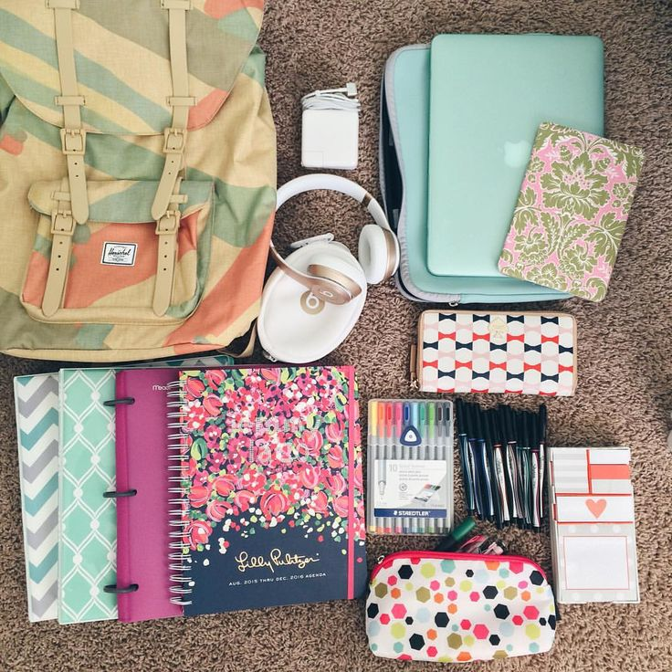 "whimsicaljourney: "" School supplies for this school year. """