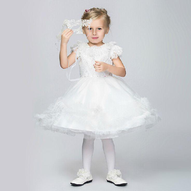 Гольфы , торжества платья для маленьких девочек элегантный аппликации-line Vestidos де Comunion Leondo 2015 детские платья