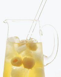 Shinsei Sangria - bartenders stir lychees and sake into their house white sangria, adding an Asian twist to a Spanish classic.