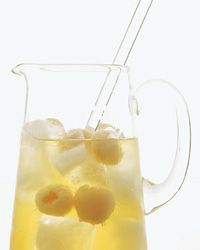 Shinsei Sangria - Pitcher Drinks from Food & WineLychee Sangria, White Wines, White Sangria, House White, Lychee Cocktails, Apples, Shinsei Sangria, Food Wine, Sangria Recipes