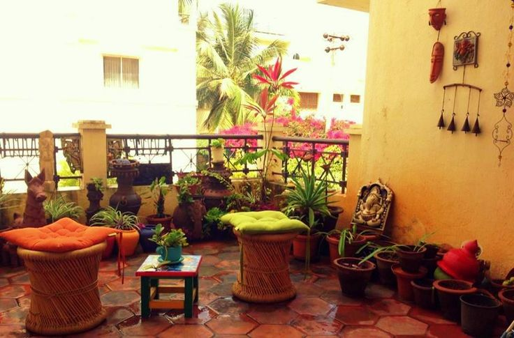 175 best images about ideas sit out balcony on for Balcony decoration ideas india