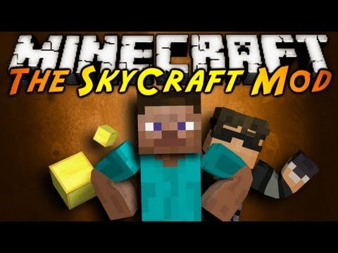 Minecraft Mod Showcase : SKYCRAFT! - YouTube