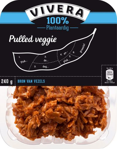 Vivera Pulled Veggie #vegan