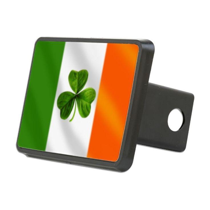 AmazonSmile: CafePress - Irish Shamrock Flag Hitch Cover - Trailer Hitch Cover, Truck Receiver Hitch Plug Insert: Automotive