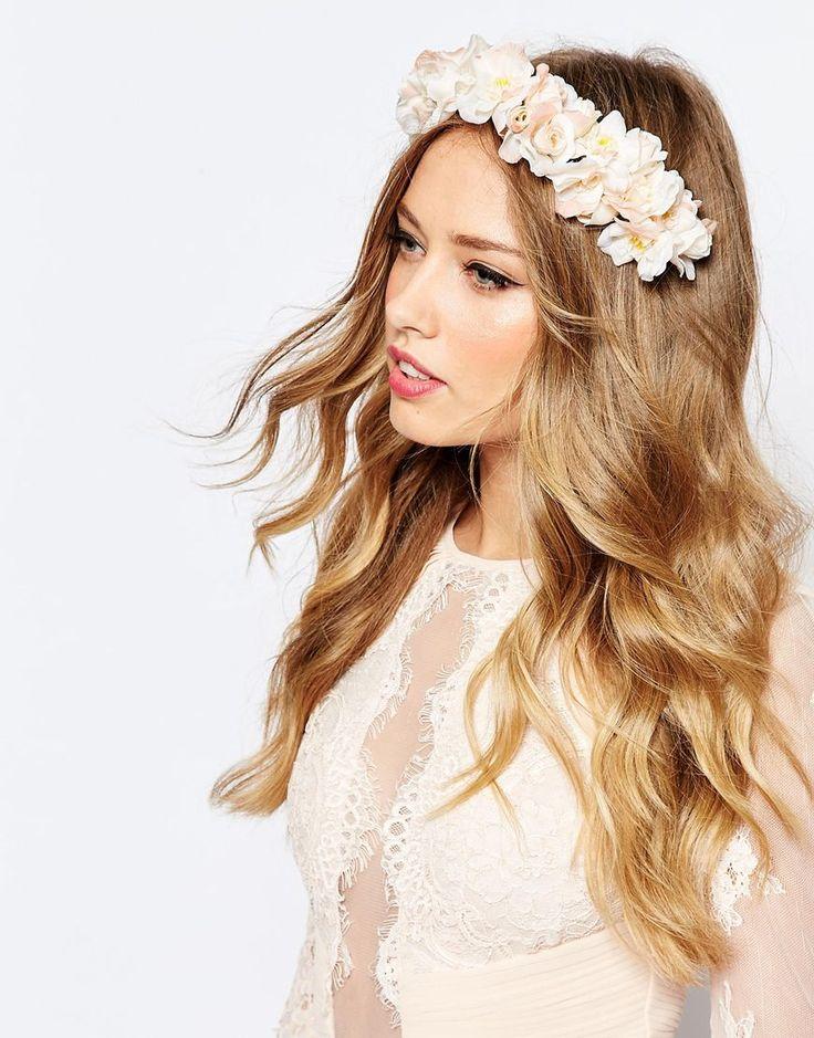 ASOS+WEDDING+Blushing+Flowers+Hair+Clip