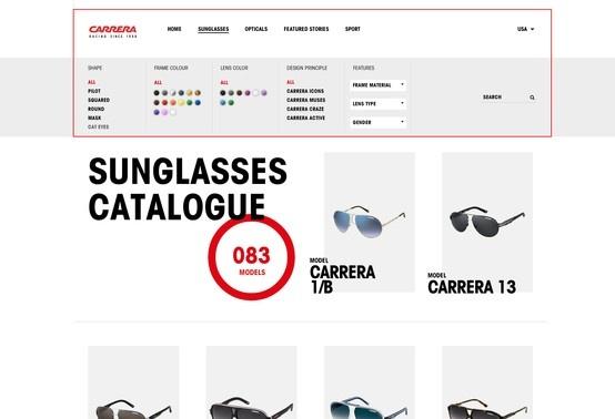 http://carreraworld.com/us/sunglasses/catalogue/