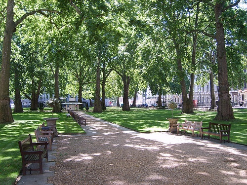 Berkeley Square - Home of our UK office!