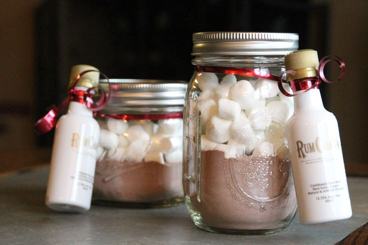 rum chata hot cocoa gift ideas by double dutch