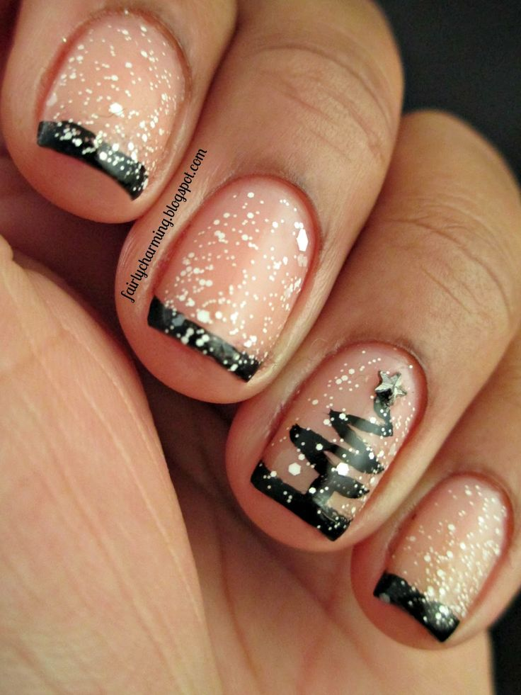 Gorgeous Winter Inspired Nail Designs: