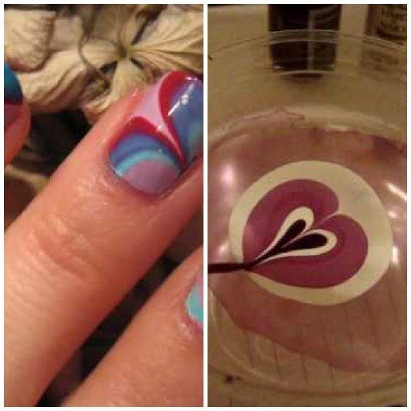 Técnica innovadora para decorar tus uñas :D