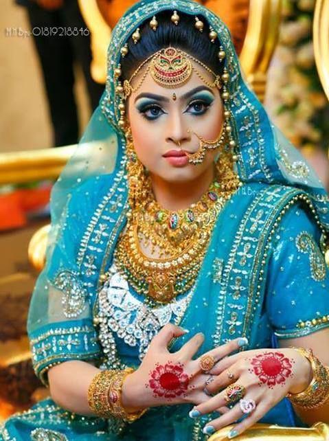Best Bridal Makeup Parlour : 17 Best images about Bangali Style on Pinterest ...