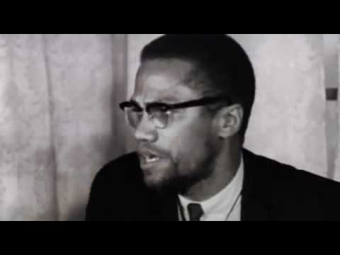 Malcolm X's Famous Speech After Returning From Mecca in 1964 - Malcolm X speaks on his ideologies after his return from his pilgrimage to Mecca and his presentation to the U.N.