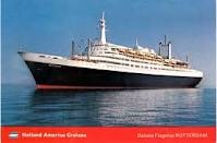 SS Rotterdam (Holland American Line). Pin provided by Elbow Beach Cycles http://www.elbowbeachcycles.com