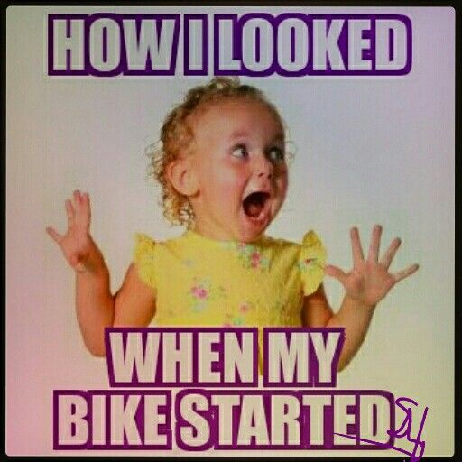 How I looked When, motocycle repair, quote