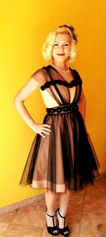 Dress 50style and Hair by Janis Garden Dressmaker - Tailored