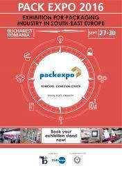 Pack Expo 2016, expozitia anului din Europa de Sud Est pentru industria de ambalaje si solutii de ambalare