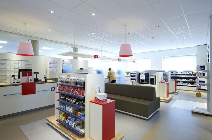 Het interieurontwerp van de nieuwe Service Apotheek heeft een professionele uitstraling, maar vooral niet koel en afstandelijk.