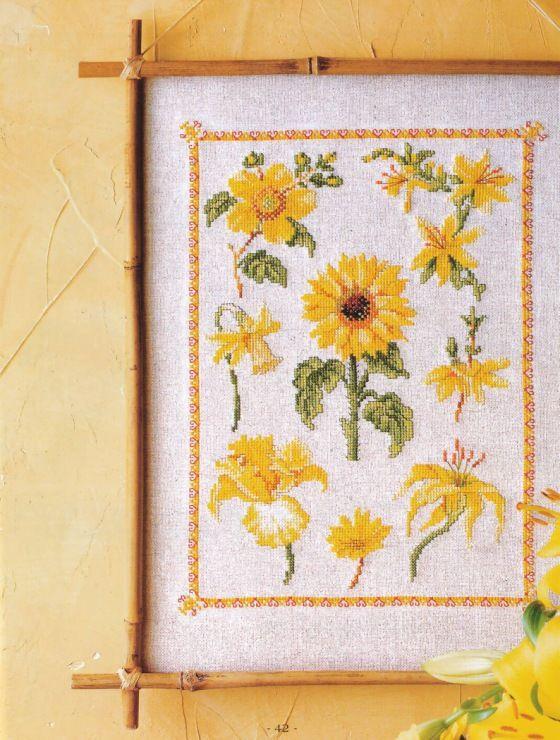 Yellow Lilies & Sunflower #1/3 .... Gallery.ru / Фото #42 - 28 желтый - Mosca