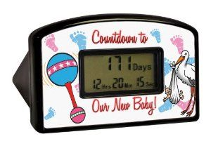 Amazon.com : Big Mouth Toys Countdown Timer - New Baby (Blister) : Pregnancy Gifts : Toys & Games