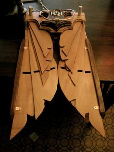 `.Steampunk Wings - Pulley Driven. The link seems broken at the time I Pinned this. I'll have another look later.